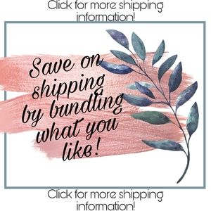 Other - New Shipping Rates!!